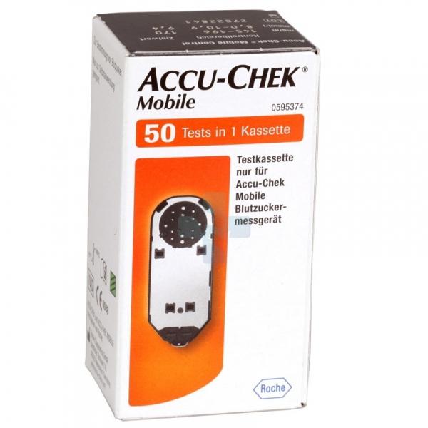 Accu-Chek Linea Controllo Glicemia Mobile 50 Strisce MIC2 Retail