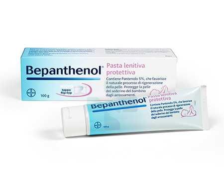 Bepanthenol Linea Bambini Pasta Lentiva Protettiva  100 g