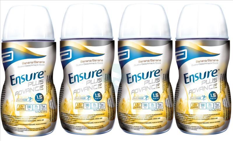 Abbott Linea Nutrizione Domiciliare Ensure Plus Advance 4x220 ml Banana