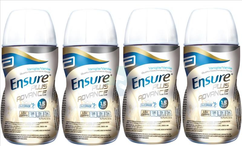 Abbott Linea Nutrizione Domiciliare Ensure Plus Advance 4x220 ml Vaniglia