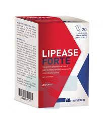 LJ Pharma Lipease Forte Alimento Dietetico Tecnologia Fast-Slow 20 buste