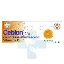 Bracco Cebion Integratore Di Vit. C Gusto Arancia Efferv. Senza Zuccheri 10cpr