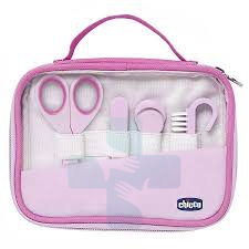 Chicco Linea Baby Moments Set Cura delle Unghie Girl