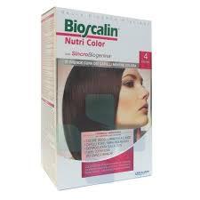 Bioscalin Linea Colorazione Delicata Tinte Capelli Nutricolor 4 Castano