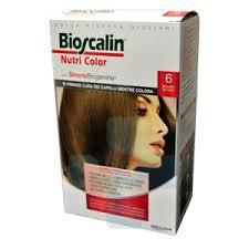 Bioscalin Linea Colorazione Delicata Tinte Capelli Nutricolor 6 Biondo Scuro