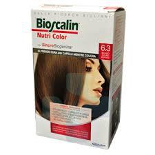 Bioscalin Linea Colorazione Delicata Tinte Capelli Nutricolor 6,3 Biondo Scuro D