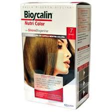 Bioscalin Linea Colorazione Delicata Tinte Capelli Nutricolor 7 Biondo