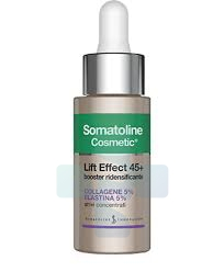 Somatoline Cosmetic Anti-Age Lift Effect 45+ Booster Ridensificante Viso 30 ml