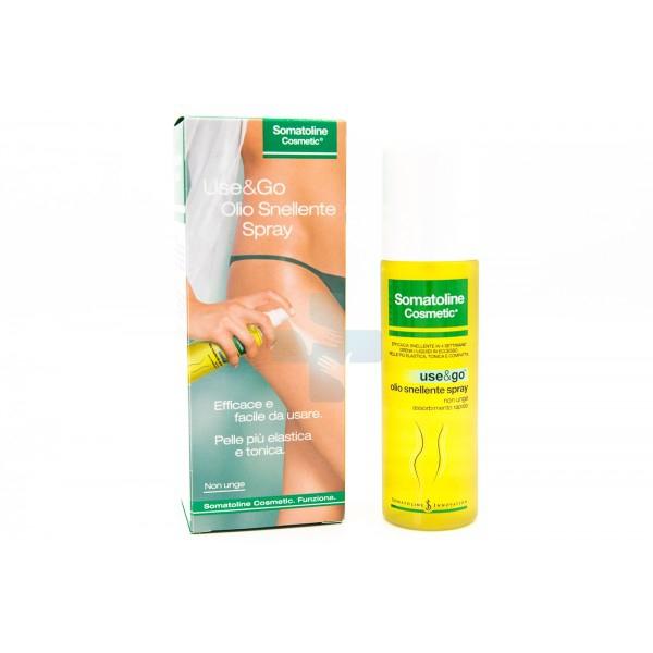 Somatoline Linea Cosmetic Use&Go Olio Snellente Spray Rassodante Drenante 125 ml