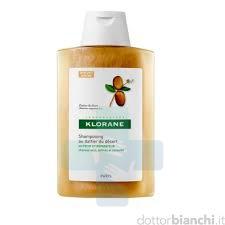 Klorane Capelli Linea Dattero del Deserto Nutriente Rigenerante Shampoo 400 ml