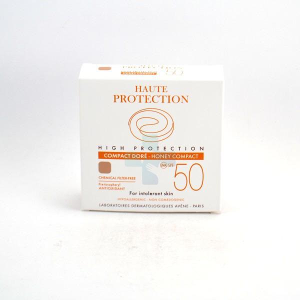 Avene Linea Solare Pelli Intolleranti SPF50 Fondotinta Compatto Dorato 10 g