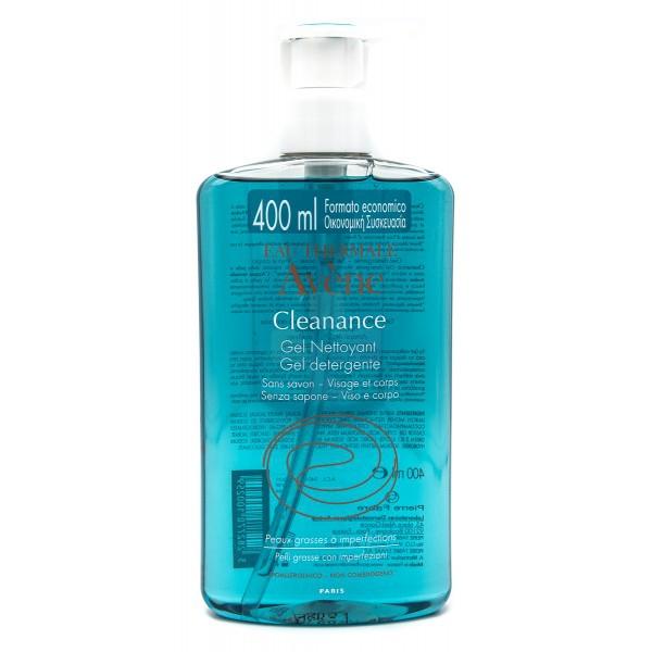 Avene Linea Cleanance Pelli Grasse e Impure Gel Detergente Delicato 400 ml
