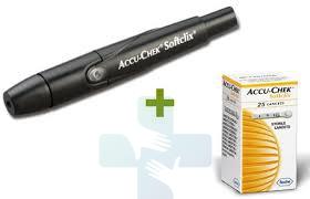 Accu-Chek Linea Controllo Glicemia SoftClix Dispositivo Pungidito