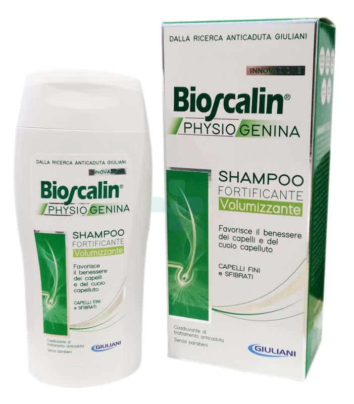 Bioscalin Linea Anticaduta Physiogenina Shampoo Fortificante Volumizzante 200ml