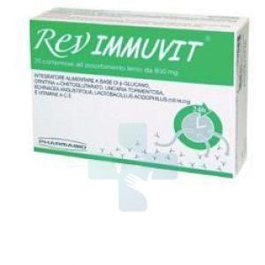 Rev Pharmabio Integratore Alimentare Rev Immuvit 20 Cps