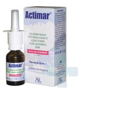 Ar Fitofarma srl Actimar Soluzione Nasale Ipertonica 20ml
