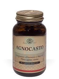Solgar Agnocasto Integratore Alimentare 90 Capsule Vegetali