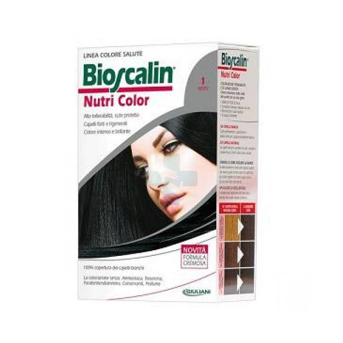 Bioscalin Linea Colorazione Delicata Tinte Capelli Nutricolor 1 Nero