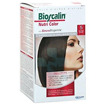 Bioscalin Linea Colorazione Delicata Tinte Capelli Nutricolor 5 Castano Chiaro