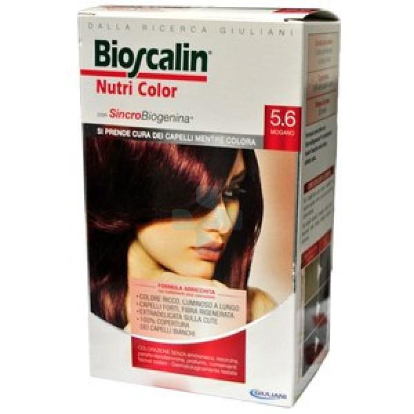 Bioscalin Linea Colorazione Delicata Tinte Capelli Nutricolor 5,6 Mogano
