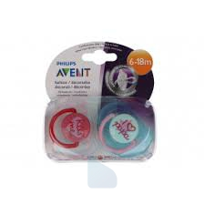 Philips Avent Succhietto Love 6-18M  2 Pz F
