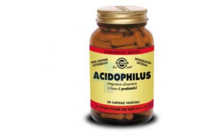Solgar Acidophilus Integratore Alimentare 50 Capsule Vegetali