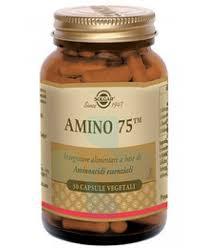 Solgar Amino 75 Integratore Alimentare 30 Capsule Vegetali