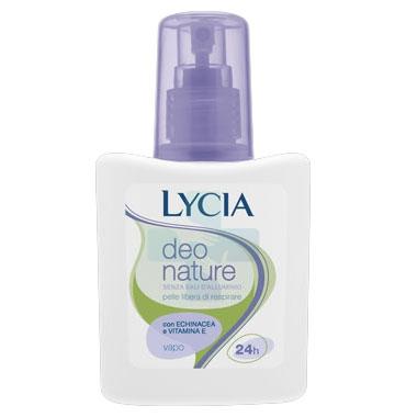 Lycia Linea Pelli Sensibili Deo Nature Deodorante senza Sali di Alluminio 75 ml