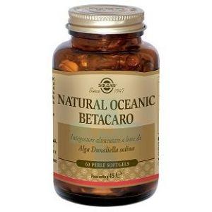 Solgar Natural Oceanic Betacaro Integratore Alimentare 60 Perle Softgels