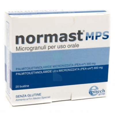 Epitech group Normast MPS Microgranuli 20 Bustine Sublinguali