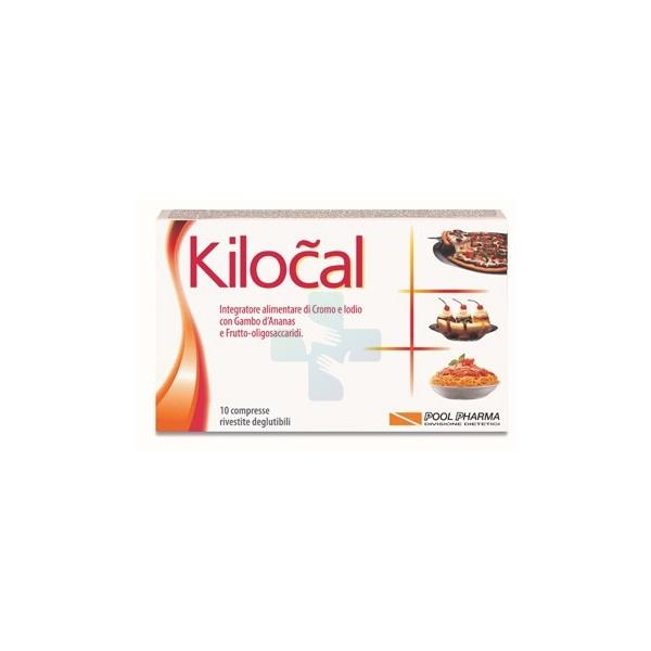 Kilocal Linea Controllo del Peso Classico Integratore Alimentare 10 Compresse