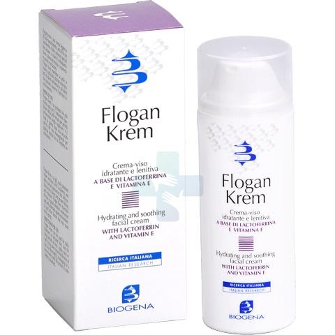 Biogena Linea Viso Flogan Krem Crema-Viso Idratante 50 ml